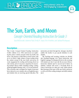 The Sun, Earth, and Moon - Concept-Oriented Reading Instruction for Grade 3