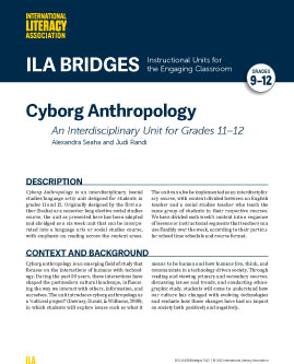 Cyborg Anthropology - An Interdisciplinary Unit for Grades 11-12