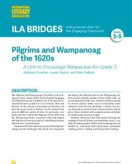 Pilgrims and Wampanoag of the 1620s-A Unit to Encourage Perspective for Grade 3