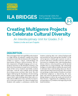 Creating Multigenre Projects to Celebrate Cultural Diversity - Interdisciplinary Unit for Grades 3-5