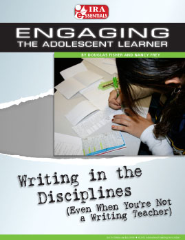 Writing in the Disciplines (Even When You're Not a Writing Teacher)