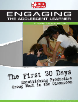 The First 20 Days Establishing Productive Group Work in the Classroom