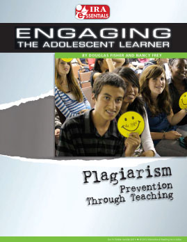 Plagiarism - Prevention Through Teaching