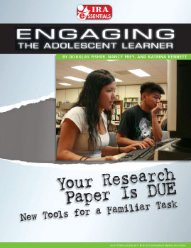Your Research Paper Is DUE - New Tools for a Familiar Task