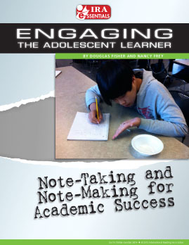 Note-Taking and Note-Making for Academic Success