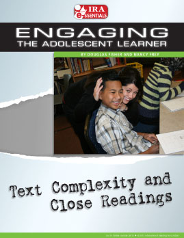 Text Complexity and Close Readings
