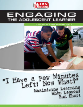 'I Have a Few Minutes Left! Now What?' Maximizing Learning When Lessons Run Short
