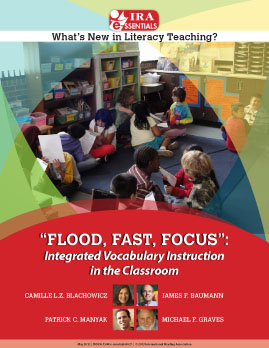 'Flood, Fast, Focus' Integrated Vocabulary Instruction in the Classroom