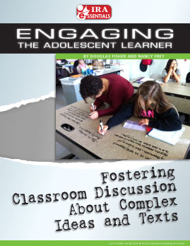Fostering Classroom Discussion About Complex Ideas and Texts