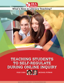 Teaching Students to Self-Regulate During Online Inquiry