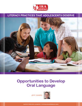 Opportunities to Develop Oral Language