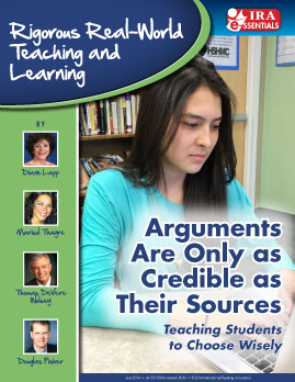 Arguments Are Only as Credible as Their Sources - Teaching Students to Choose Wisely