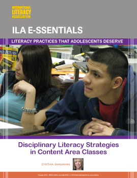 Disciplinary Literacy Strategies in Content Area Classes