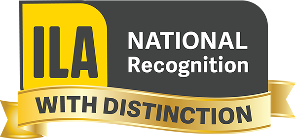 ILA National Recognition with Distinction
