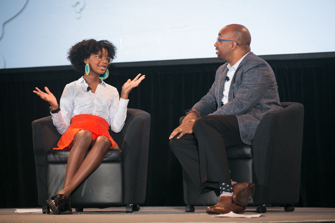 Marley Dias and Kwame Alexander