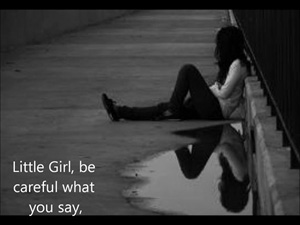Image result for carl sandburg little girl be careful what you say
