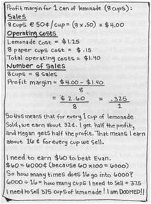 teach math business and more with em the lemonade war em