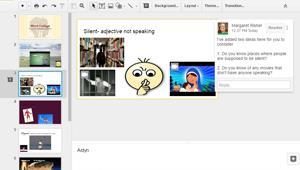 Using Google Slides to Make Vocabulary Stick