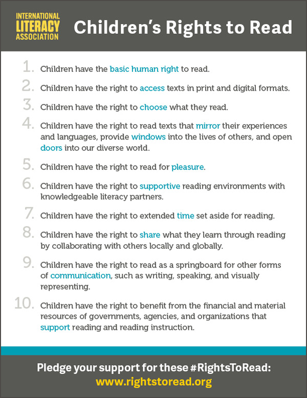 English Children's Rights to Read