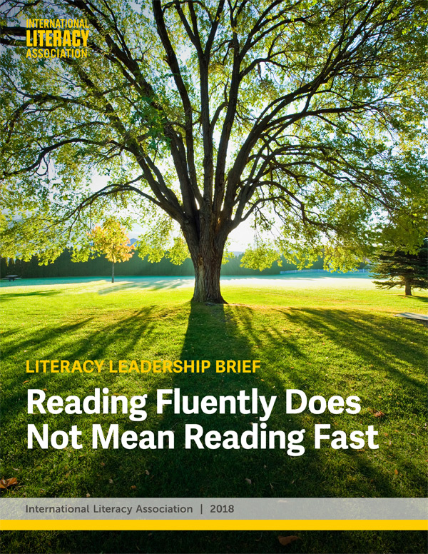 Reading Fluently Does Not Mean Reading Fast
