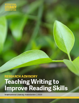 Teaching Writing to Improve Reading Skills