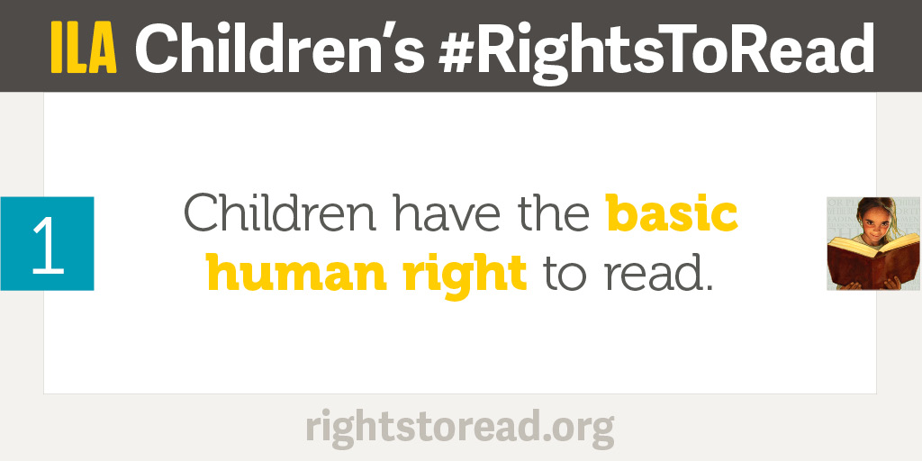 Do Children Have Right To Literacy >> Children S Rights To Read International Literacy Association