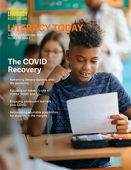 Sept/Oct issue of Literacy Today